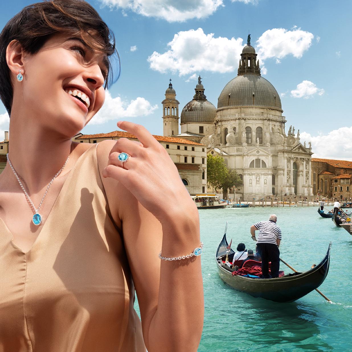 Partecipa e vinci  un weekend a Venezia e gioielli Gemma del Cielo