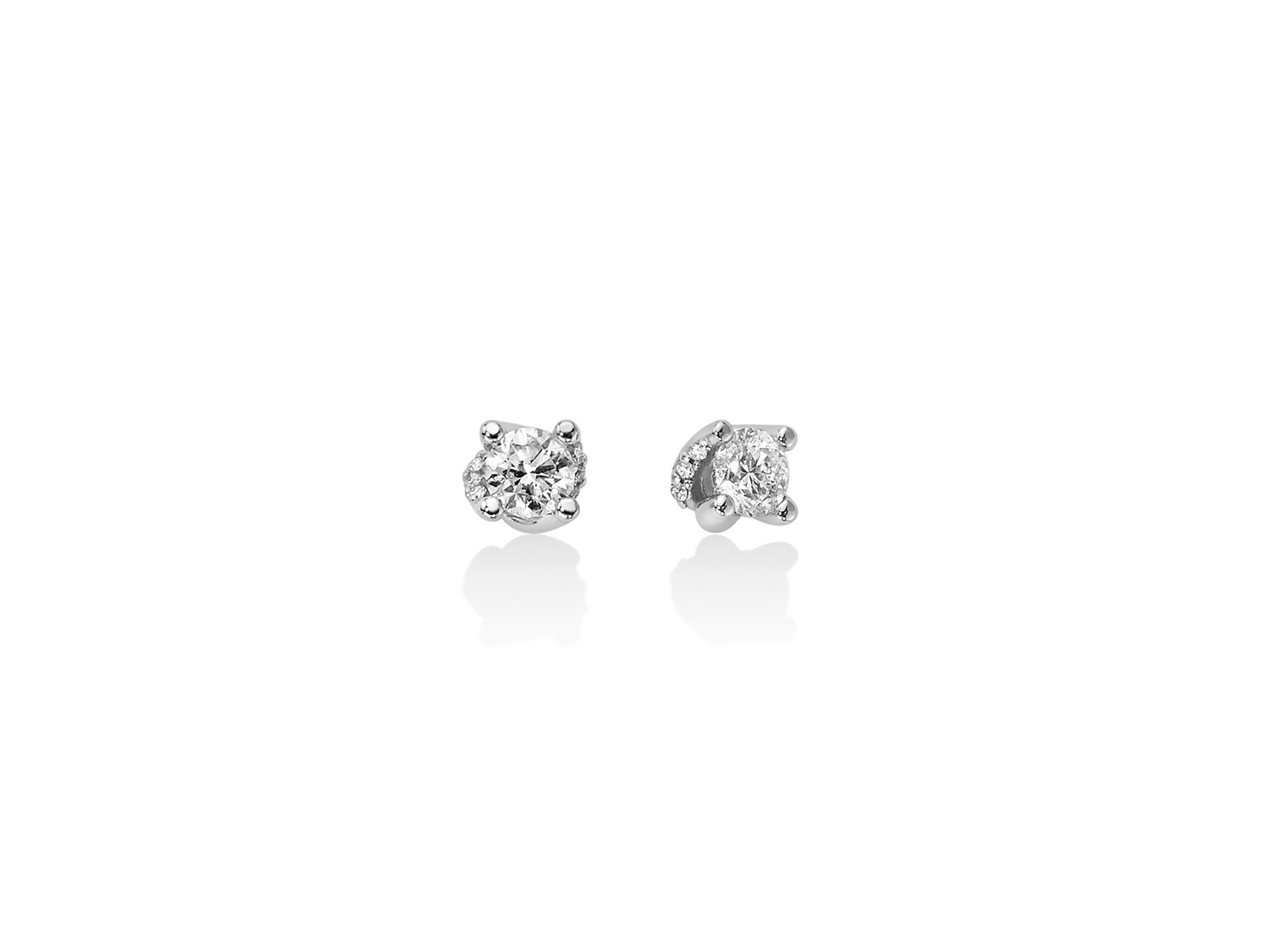 Orecchini in oro con diamanti. - ERD2415-030G7