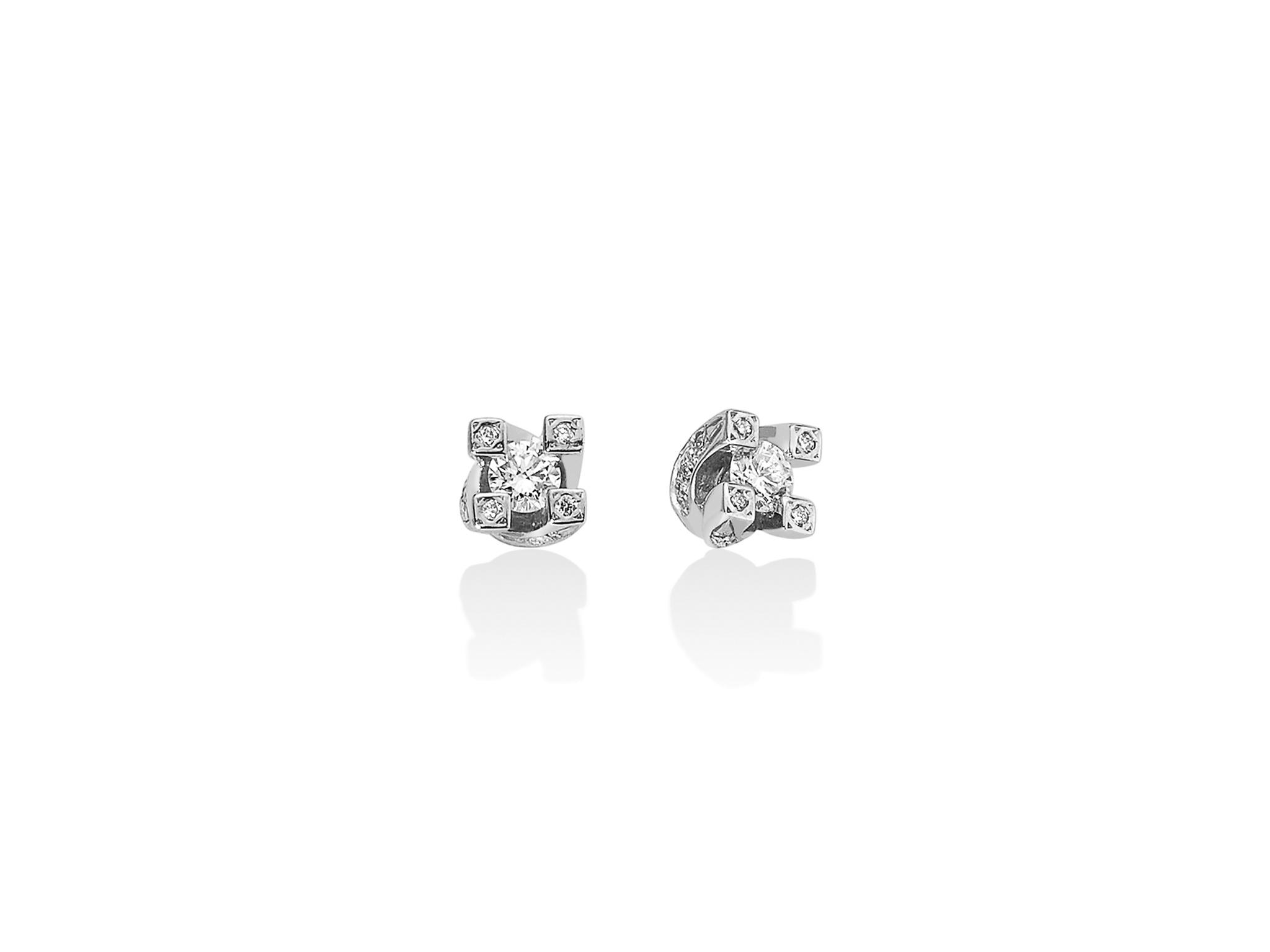 Orecchini Valentino in oro e diamanti. - ERD5069-040G7