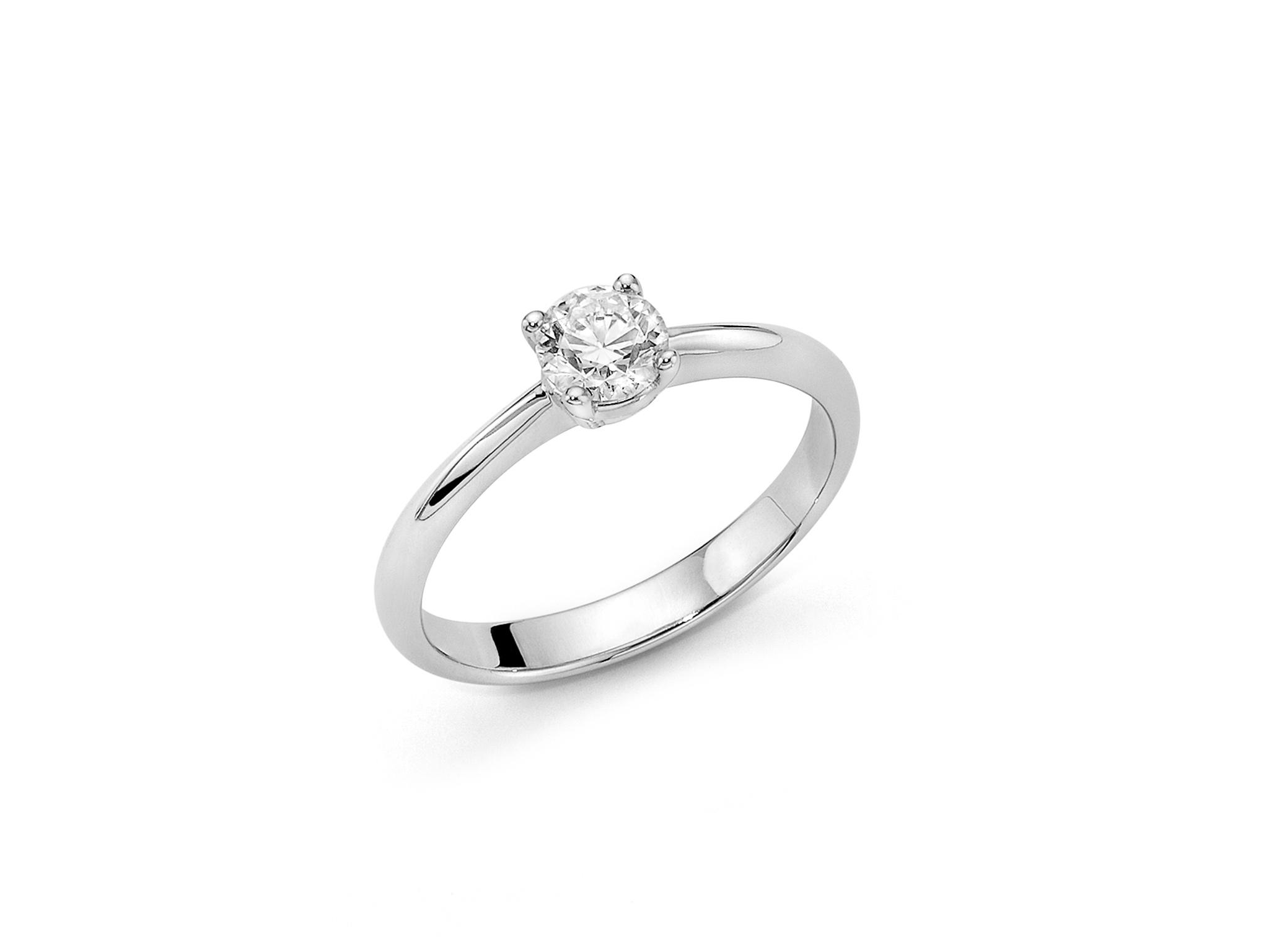 Solitario in oro con diamante. - LID3210-070G7