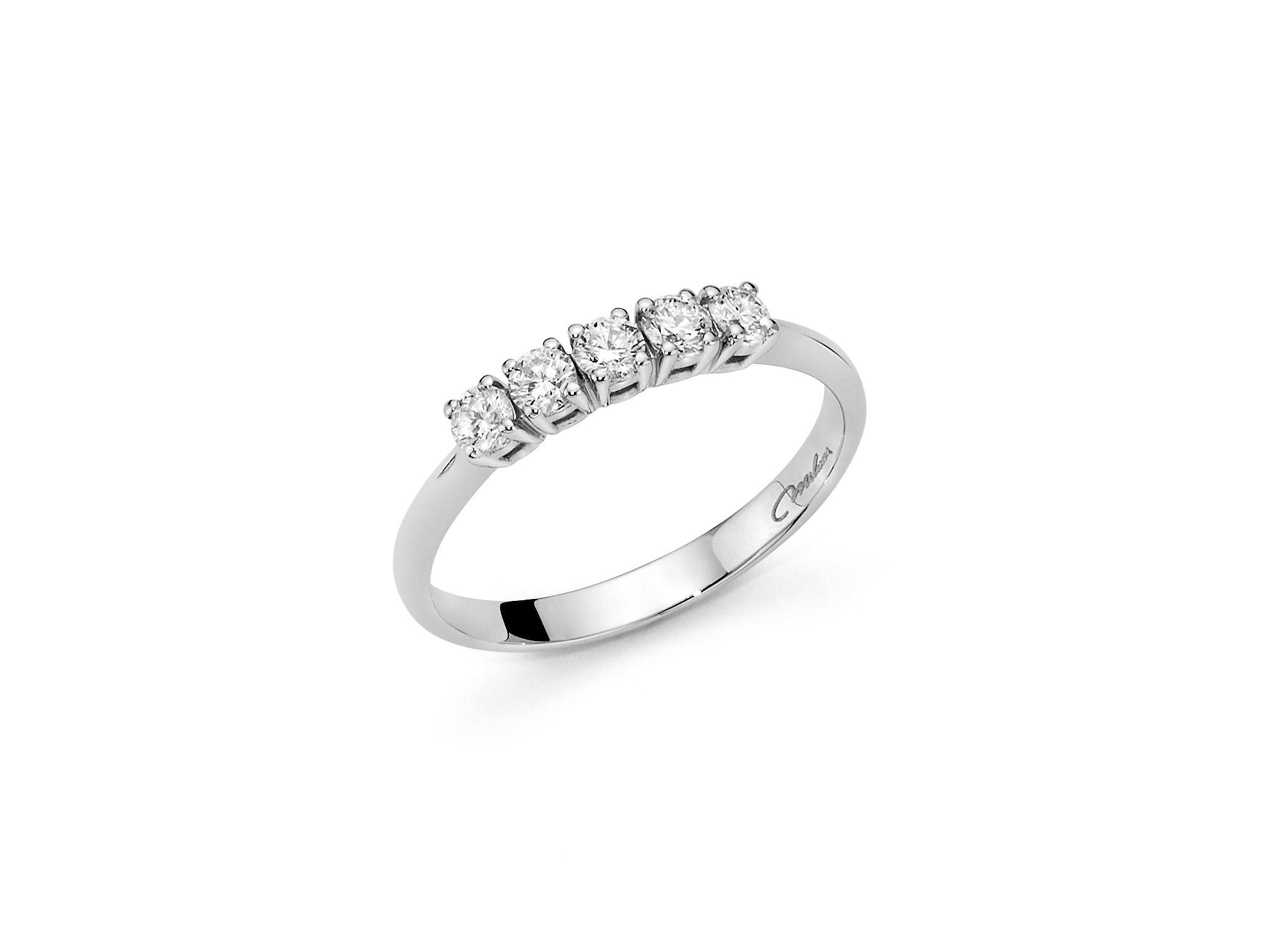 Fedina con diamanti - LID3228-020G7