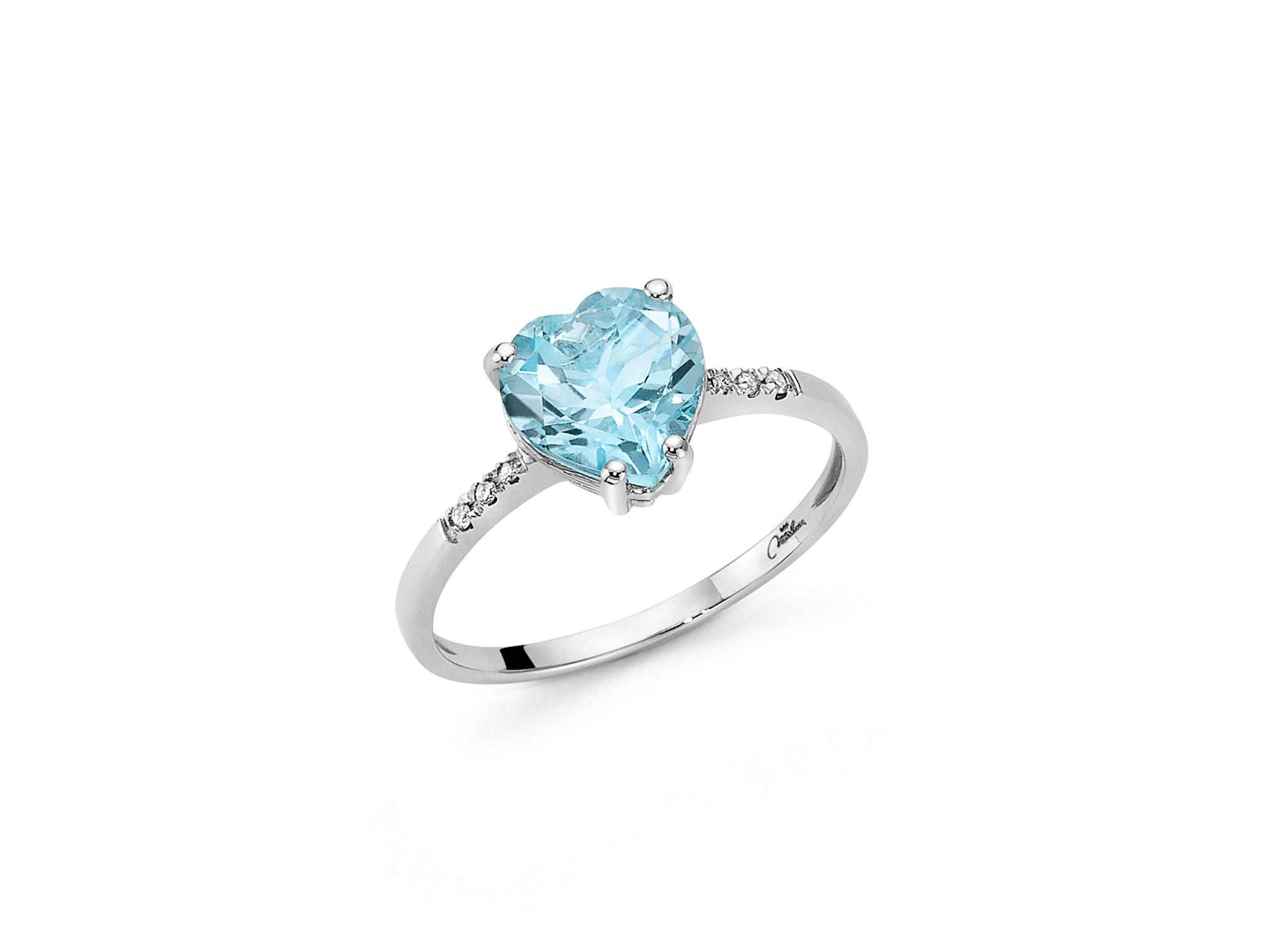 Anello diamanti e Gemma del Cielo - LID3286