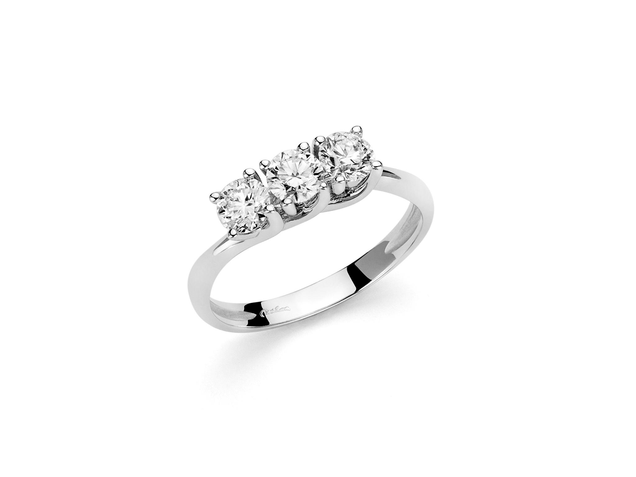 Trilogy in oro e diamanti. - LID3295-024G7