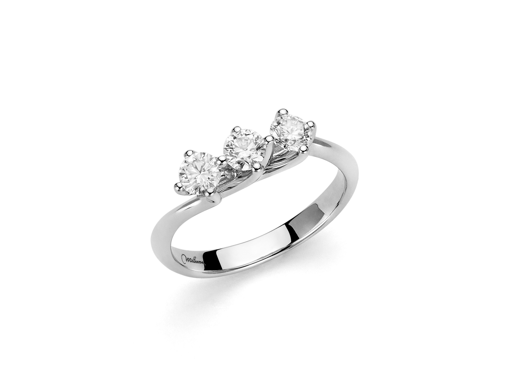 Anello trilogy con diamanti - LID3312-039G7