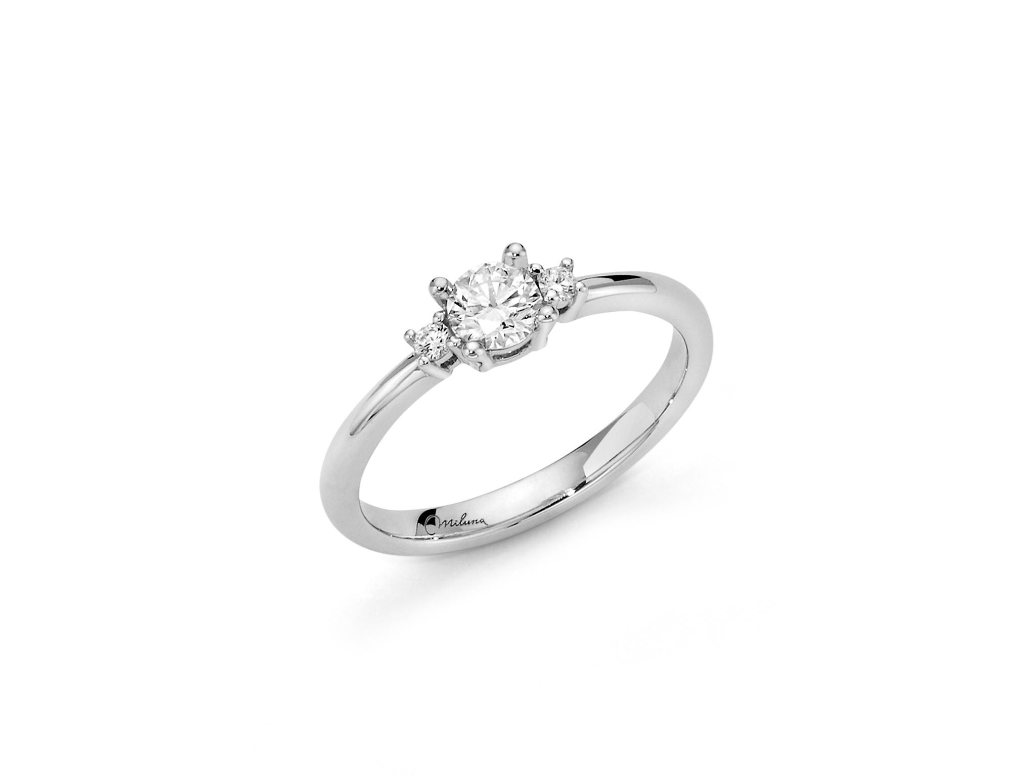 Solitario con diamanti. - LID3429-032G7