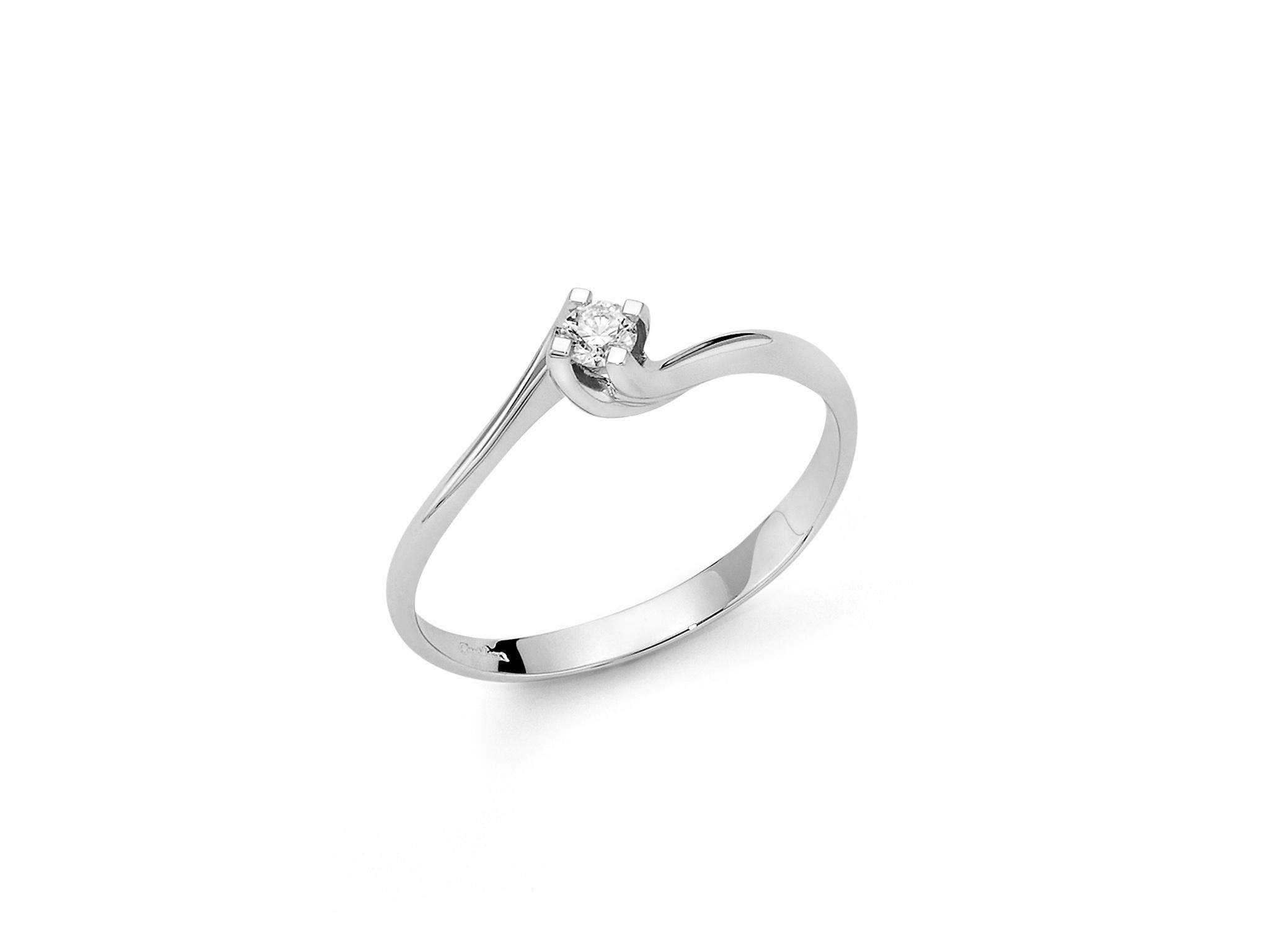 Solitario Valentino in oro e diamante. - LID5180-070G7
