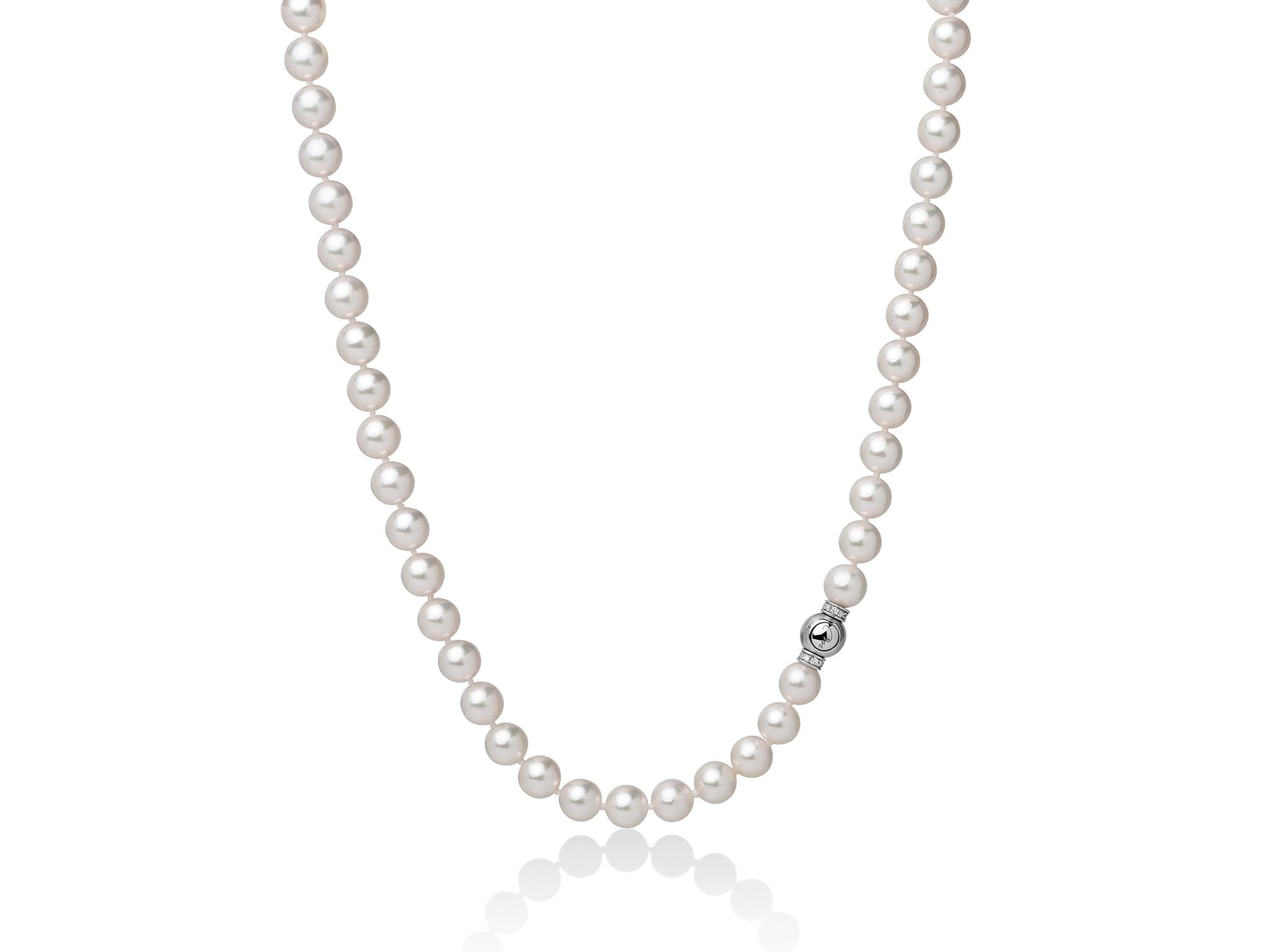 Collana di perle Akoya. - PCL5708